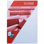 Artoz Doppelkarte S-Line A6 200g/m² 5 Stück weiß