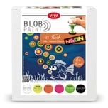 Viva Decor Blob Paint Set Fisch 6x90ml