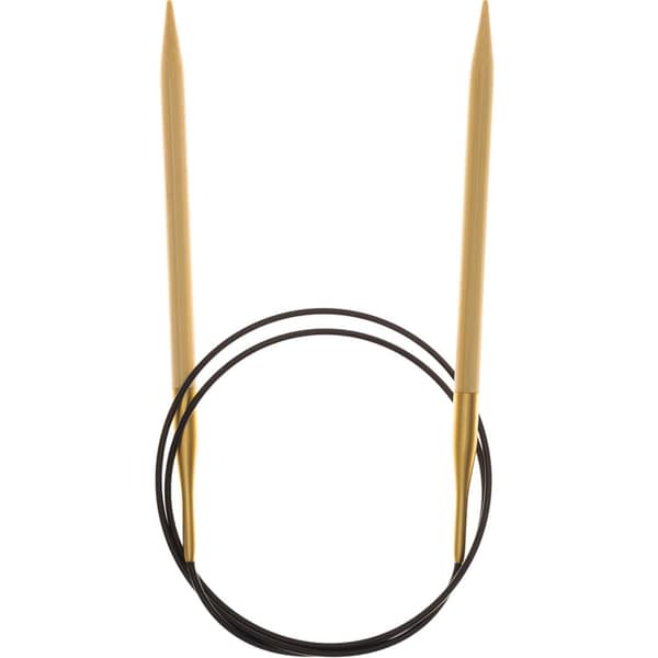Rico Design Rundstricknadel 80cm Bambus 6,0