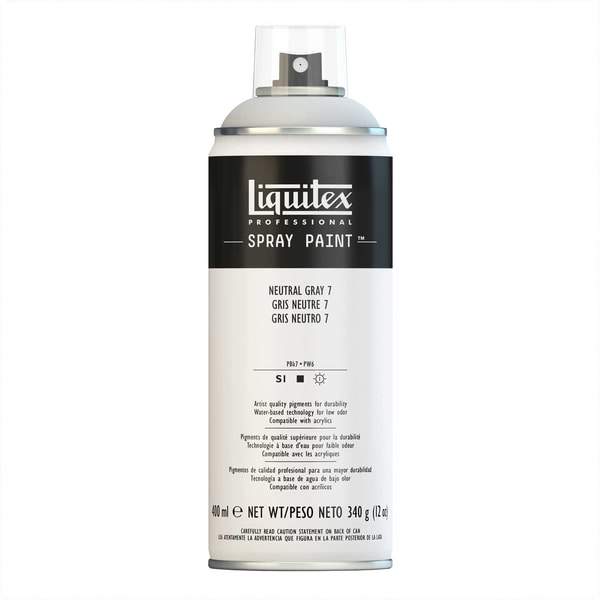 Liquitex Acrylspray 400ml neutralgrau 7