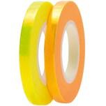 Paper Poetry Tapes irisierend 5mm 10m 2 Stück gelb-orange