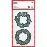 Paper Poetry Sticker Kränze 4 Blatt