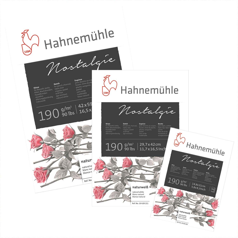 Hahnemühle Skizzenblock Nostalgie 190g/m² 50 Blatt A2
