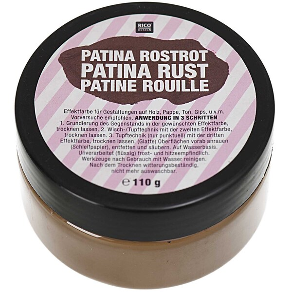 Rico Design Patina Rostrot 110g