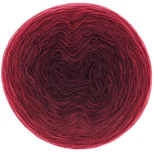 Rico Design Creative Wool dégradé 200g 800m rot