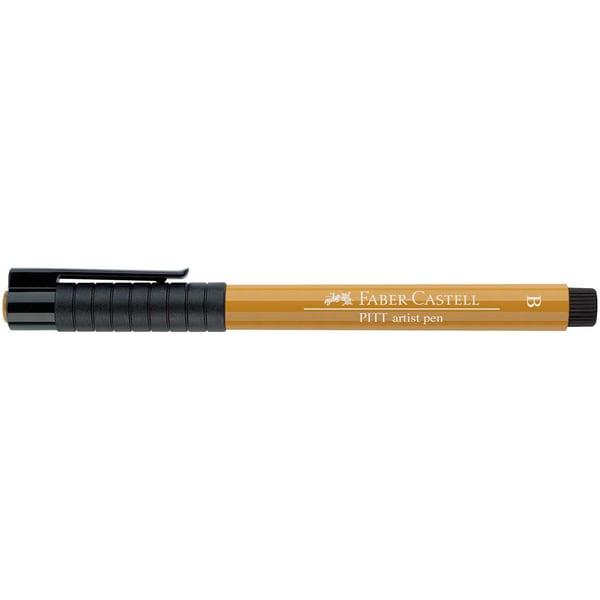 Faber Castell PITT artist pen brush grüngold