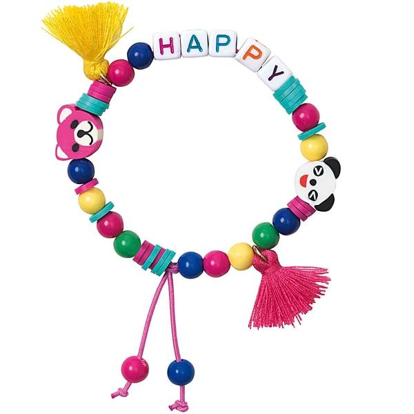 Jewellery Made by Me Mini Perlen Armband Set Happy