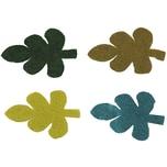 Rico Design Filzblätter groß 4 Stück
