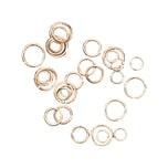Jewellery Made by Me Ringe zum Verbinden gold 30 Stück
