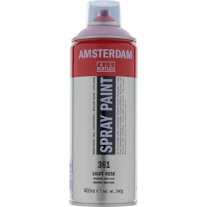 AMSTERDAM Spray 400ml hellrosa
