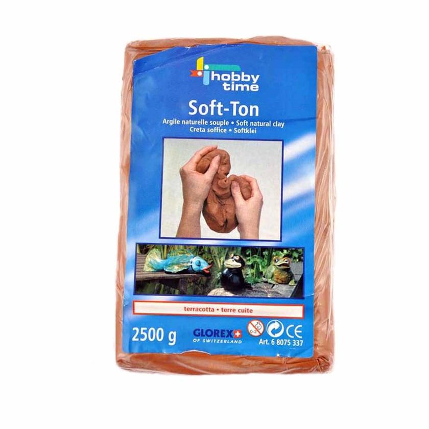 GLOREX Soft-Ton terracotta 2,5 kg