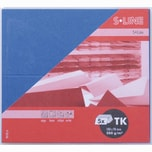Artoz Tischkarte S-Line 200g/m² 5 Stück marine