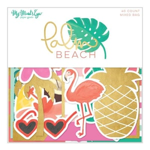 MyMindsEye Scrapbooking Mixed Bag Palm Beach 40 Motive