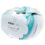 Rico Design Baby Dream Luxury Touch dk 50g 122m türkis mix