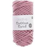 Rico Design Creative Cotton Cord Makramee-Garn 130g 25m flieder