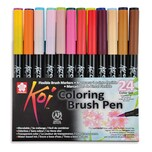 Koi Coloring Brush Pen 24teilig