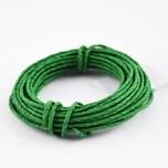 Papierdraht 2mm 5m grün