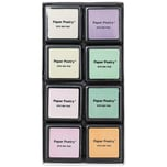 Paper Poetry Tusche-Stempelkissen Set 8 Farben pastell Mix