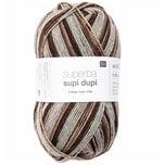 Rico Design Superba Supi Dupi 4-fädig 100g 400m braun mix