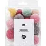 Made by Me Garn Pompons pastell mix 24-teilig