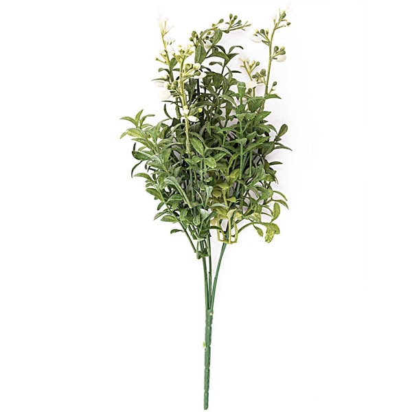 Busch weiß-grün 38cm