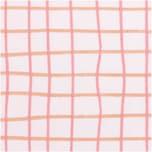 Rico Design Druckstoff Crafted Nature kariert rosa 50x140cm