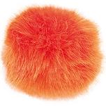 Rico Design Kunstfellbommel 5cm orange
