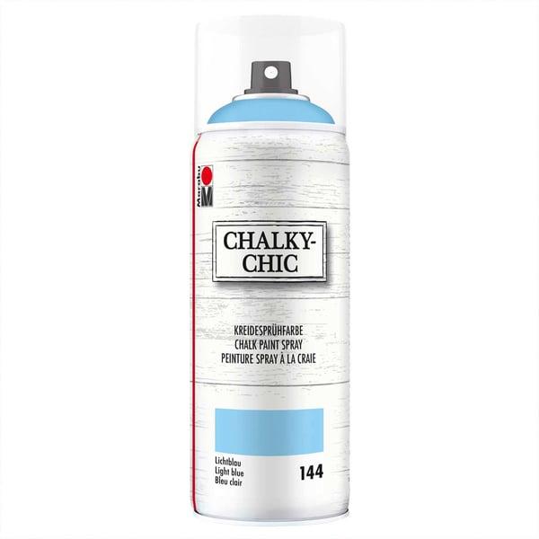 Marabu Kreidesprühfarbe Chalky-Chic 400ml lichtblau