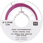 Jewellery Made by Me Draht Nylonummantelt pink 0,38mm 10m