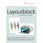 Hahnemühle Layout-Block A4 75 Blatt