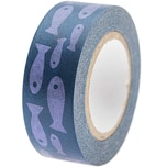 Paper Poetry Tape Mermaid Fische blau 1,5cm 10m
