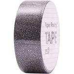 Paper Poetry Glitter Tape 1,5cm 5m schwarz
