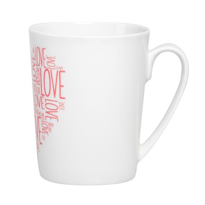 Feinkost Käfer Cup Of Love Kaffeetasse Pink 0.3l