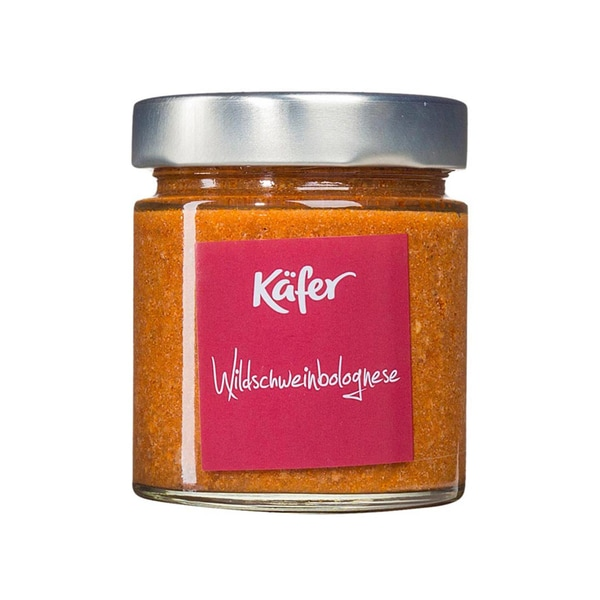 Feinkost Käfer Wildschweinbolognese Sauce 210ml