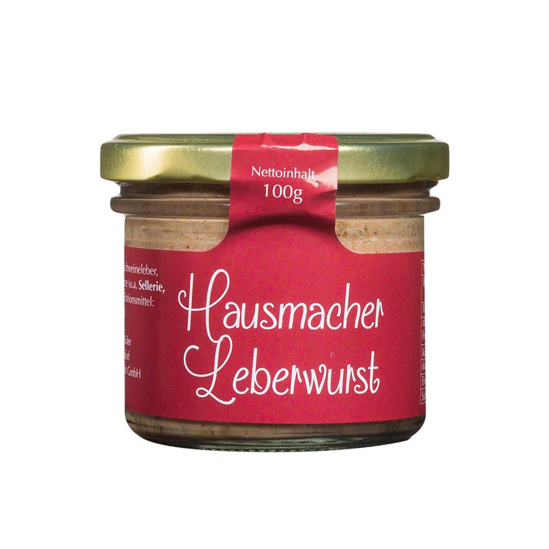 Feinkost Käfer Hausmacher Leberwurst 100g
