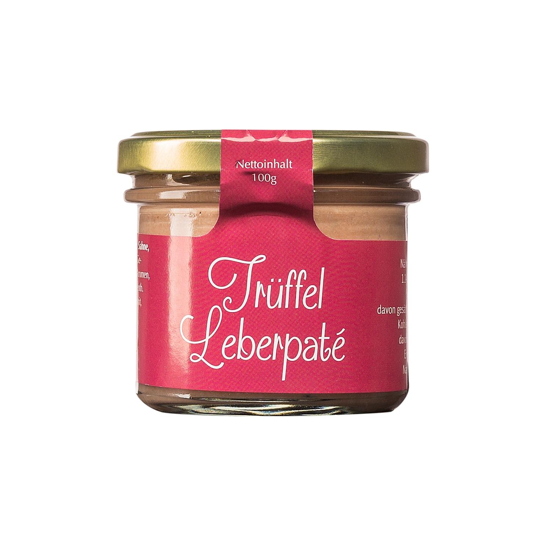 Feinkost Käfer Trüffel-Leberpaté 100g