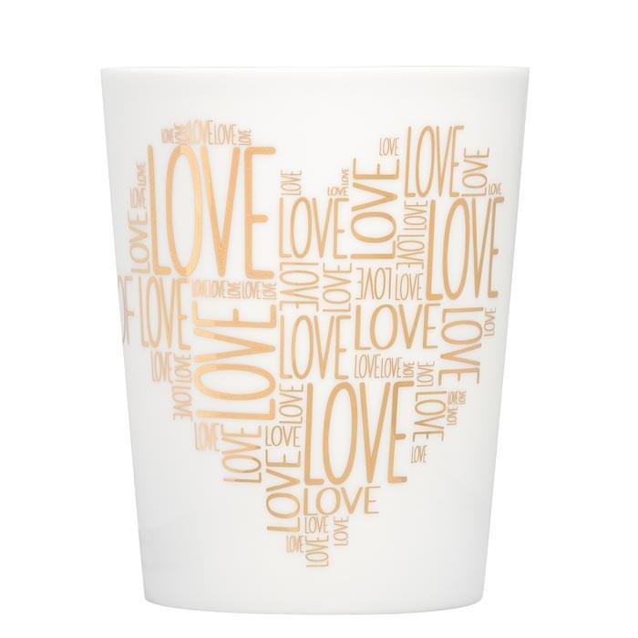Feinkost Käfer Cup Of Love Kaffeetasse Gold 0.3l