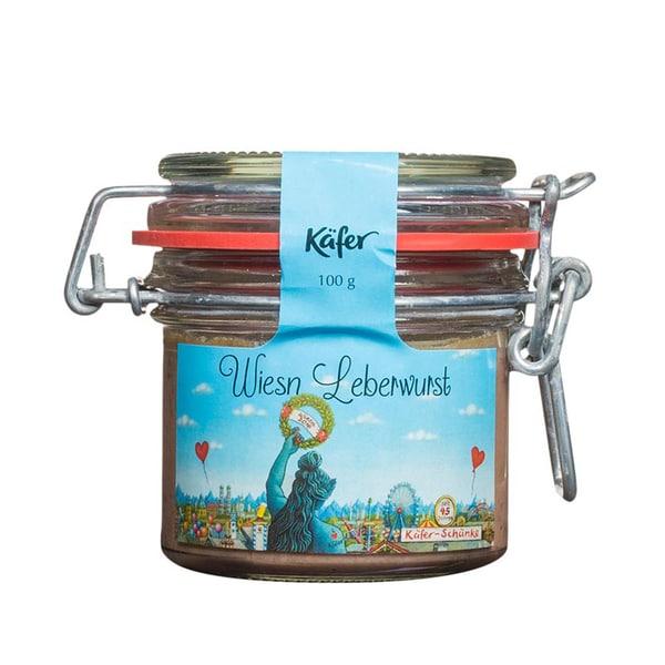 Feinkost Käfer Wies'n Leberwurst 100g