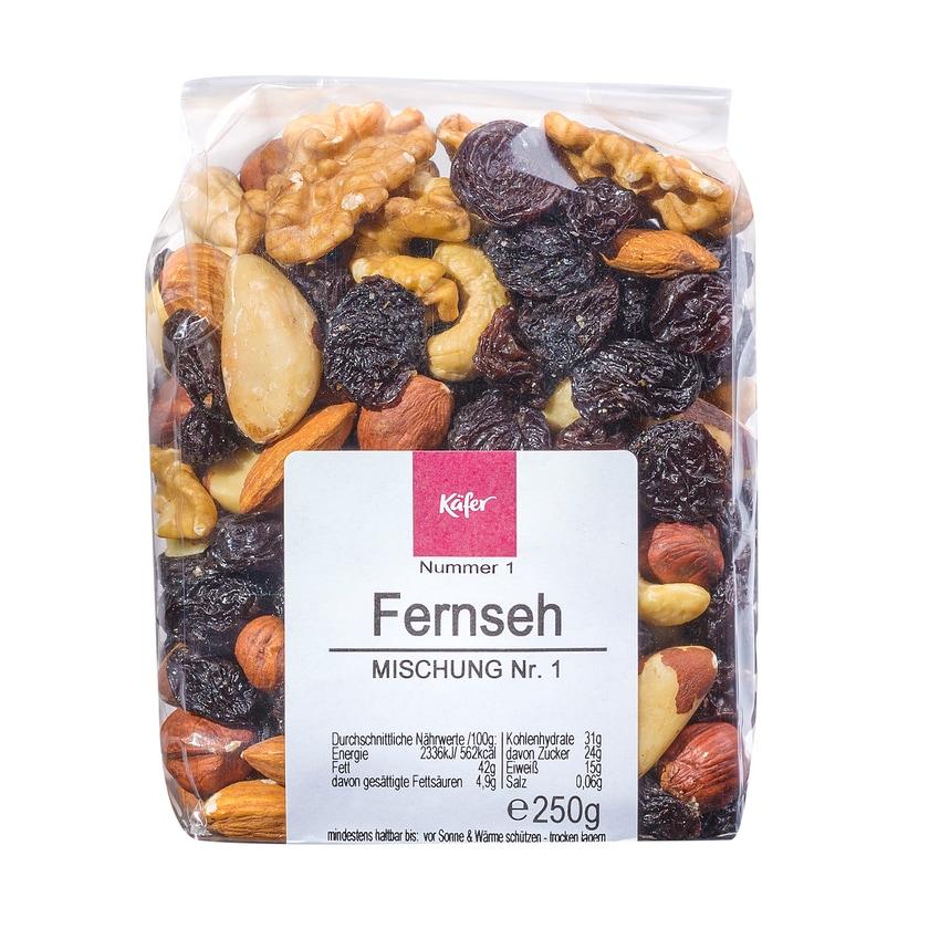 Feinkost Käfer Fernsehmischung Frucht-Nuss-Mischung 250g