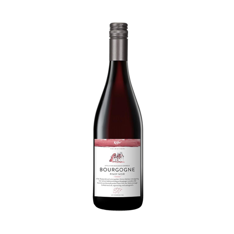 Feinkost Käfer Selektion 2014 Bourgonge Pinot Noir Frankreich Rotwein 0.75l