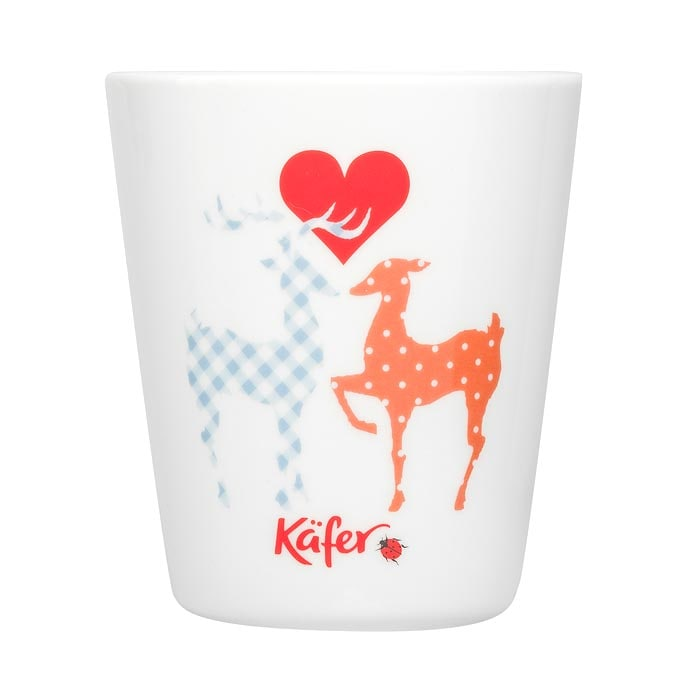Feinkost Käfer Bayern Haferl Hirsch Kaffeetasse 0.3l