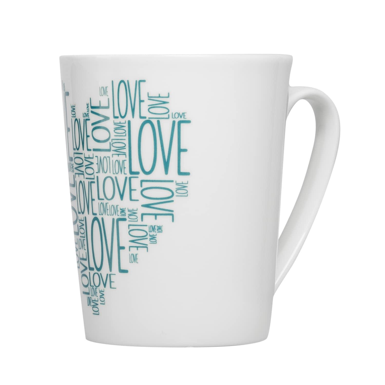 Feinkost Käfer Cup Of Love Kaffeetasse Petrol 0.3l