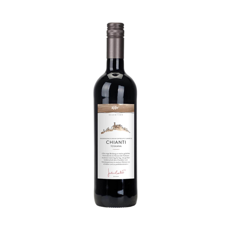 Feinkost Käfer Selektion 2014 Chianti Italien Rotwein 0.75l