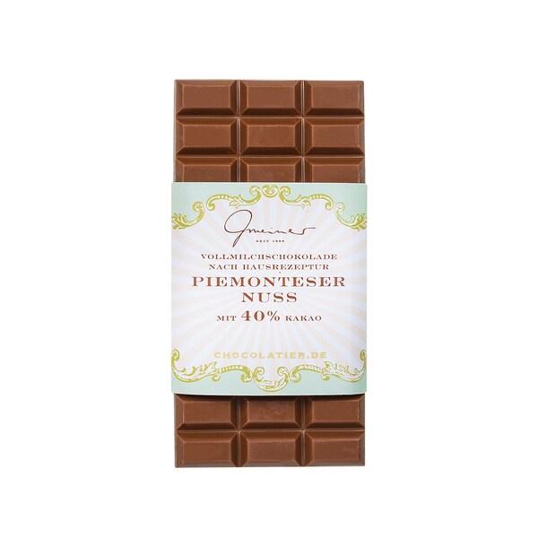 Gmeiner Confiserie Piemonteser Haselnüsse Schokolade 200g