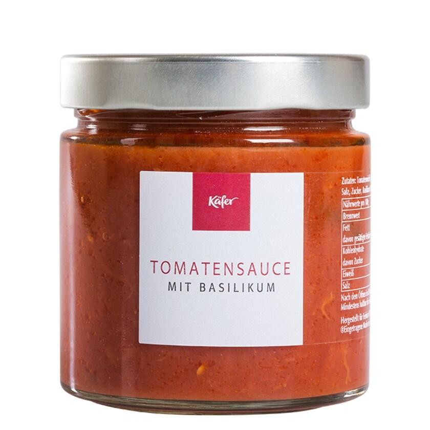 Feinkost Käfer Tomatensauce Basilikum Tomatensauce 390 g