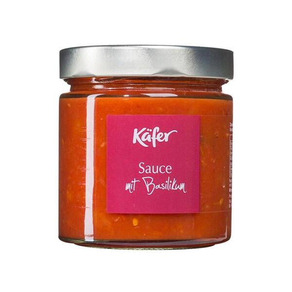 Feinkost Käfer Tomatensauce Basilikum 390g
