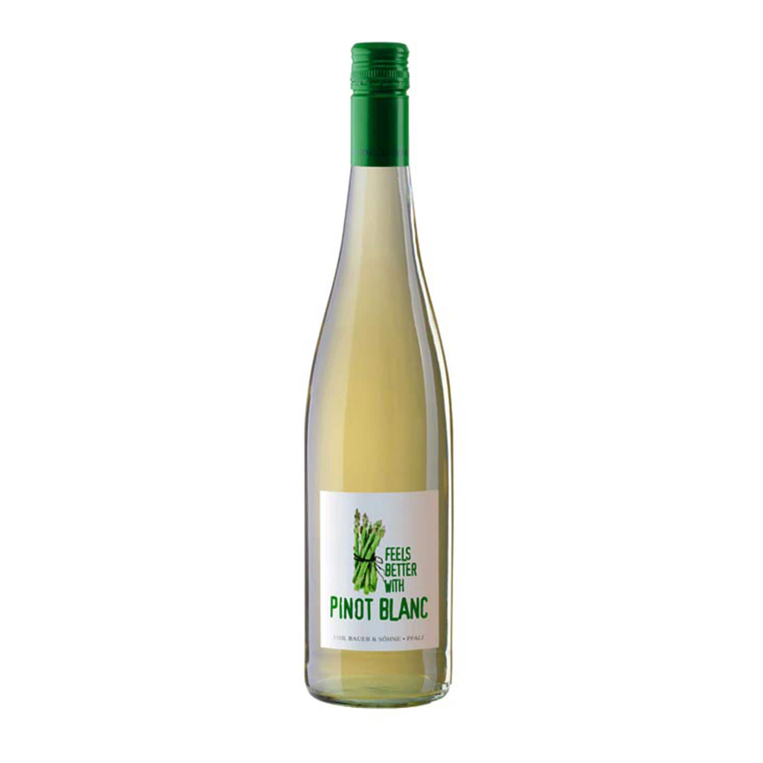 Emil Bauer & Söhne, FeelsBetter with Pinot Blanc, Pinot Blanc 2016, Weißwein, 0.75l