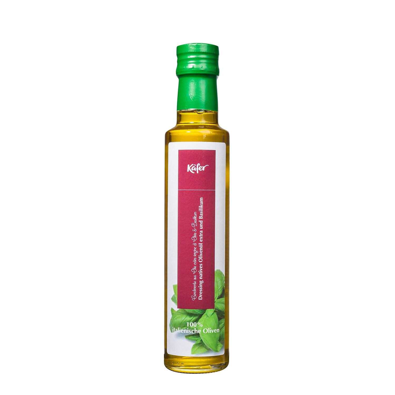 Feinkost Käfer Natives Olivenöl Basilikum 250ml