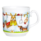 Feinkost Käfer Haferl Wäscheleine Kaffeetasse 0.35l