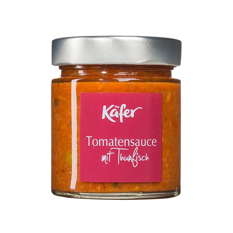 Feinkost Käfer Tomatensauce mit Thunfisch 210g